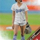 Aubrey Plaza 2016 Topps First Pitch #FP-6 Baseball Card