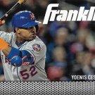 Yoenis Cespedes 2016 Topps Team Franklin #TF-10 New York Mets Baseball Card
