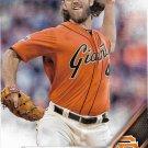 Madison Bumgarner 2016 Topps #600 San Francisco Giants Baseball Card