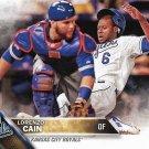 Lorenzo Cain 2016 Topps #696 Kansas City Royals Baseball Card