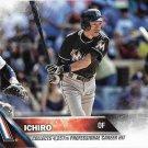 Ichiro Suzuki 2016 Topps Update #US260 Miami Marlins Baseball Card