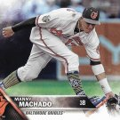 Manny Machado 2016 Topps Update #US1 Baltimore Orioles Baseball Card