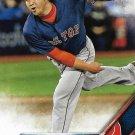 Junichi Tazawa 2016 Topps Update #US20 Boston Red Sox Baseball Card