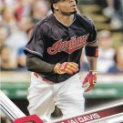 Rajai Davis 2017 Topps #239 Cleveland Indians Baseball Card