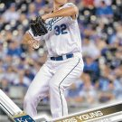 Chris Young 2017 Topps #241 Kansas City Royals Baseball Card