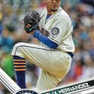 Felix Hernandez 2017 Topps #243 Seattle Mariners Baseball Card