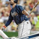 Matt Kemp 2017 Topps #295 Atlanta Braves Baseball Card