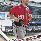 Daniel Murphy 2017 Topps #62 Washington Nationals Baseball Card