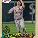 Stephen Piscotty 2017 Topps 1987 Design #87-91 St. Louis Cardinals Baseball Card
