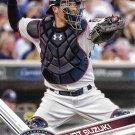 Kurt Suzuki 2017 Topps #27 Minnesota Twins Baseball Card