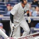 Aaron Hicks 2017 Topps #181 New York Yankees Baseball Card