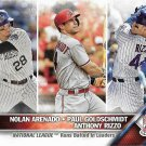 Nolan Arenado-Paul Goldschmidt-Anthony Rizzo 2016 Topps #166 Baseball Card