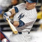 Carlos Beltran 2016 Topps #567 New York Yankees Baseball Card
