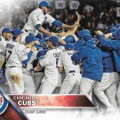 Chicago Cubs 2016 Topps #474 Baseball Team Card