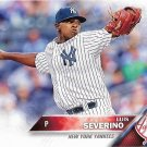 Luis Severino 2016 Topps Rookie #265 New York Yankees Baseball Card