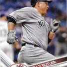 Billy Butler 2017 Topps #118 New York Yankees Baseball Card