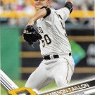 Jameson Taillon 2017 Topps #323 Pittsburgh Pirates Baseball Card