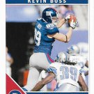 Kevin Boss 2011 Score #193 New York Giants Football Card