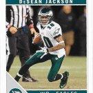 DeSean Jackson 2011 Score #220 Philadelphia Eagles Football Card