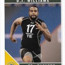 D.J. Williams 2011 Score Rookie #324 Green Bay Packers Football Card