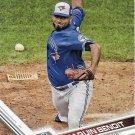 Joaquin Benoit 2017 Topps #115 Toronto Blue Jays Baseball Card