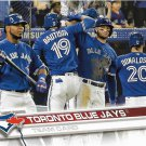 Toronto Blue Jays 2017 Topps #37 Baseball Team Card