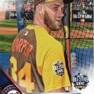 Bryce Harper 2016 Topps Update #US297 Washington Nationals Baseball Card