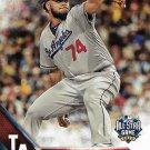 Kenley Jansen 2016 Topps Update #US172 Los Angeles Dodgers Baseball Card