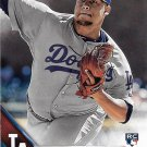 Frankie Montas 2016 Topps Rookie #505 Los Angeles Dodgers Baseball Card