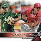 Andrew Triggs-Greg Mahle 2016 Topps Update Rookie #US63 Baseball Card