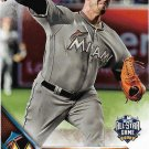Jose Fernandez 2016 Topps Update #US223 Miami Marlins Baseball Card