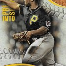 Josh Harrison 2016 Topps Pressed Into Service #PIS-7 Pittsburgh Pirates Baseball Card