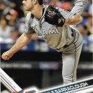 Kyle Barraclough 2017 Topps #94 Miami Marlins Baseball Card