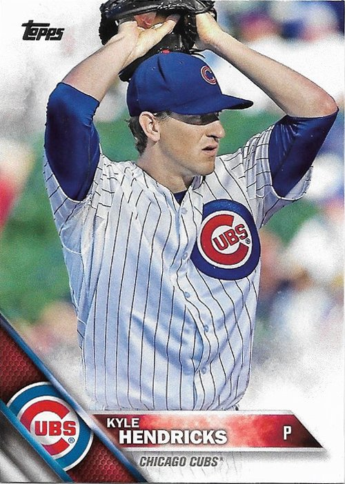 Kyle Hendricks 2016 Topps #314 Chicago Cubs Baseball Card
