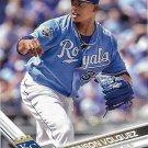 Edinson Volquez 2017 Topps #111 Kansas City Royals Baseball Card