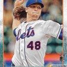 Jacob deGrom 2015 Topps #129 New York Mets Baseball Card