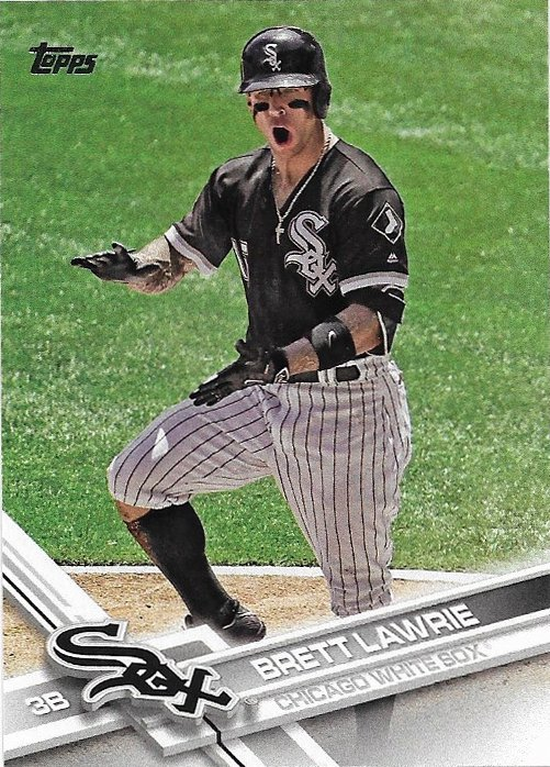 Brett Lawrie 2017 Topps #74 Chicago White Sox Baseball Card