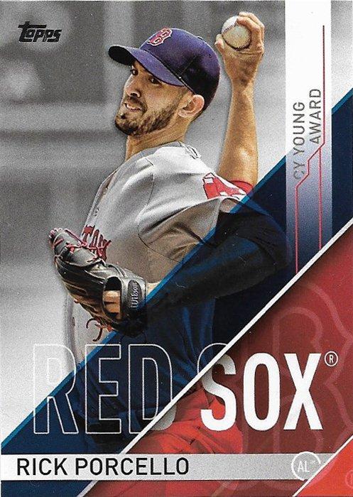 Rick Porcello 2017 Topps MLB Awards #CYA-1 Boston Red Sox Baseball Card