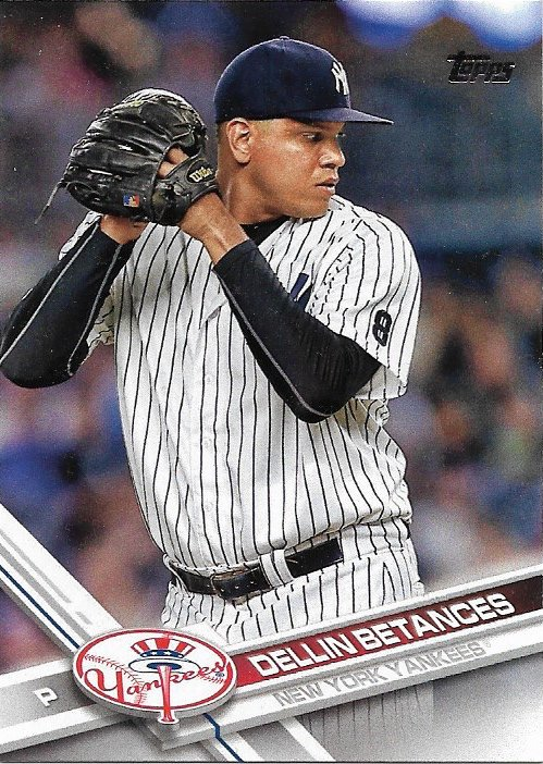 Dellin Betances 2017 Topps #54 New York Yankees Baseball Card