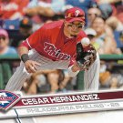 Cesar Hernandez 2017 Topps #222 Philadelphia Phillies Baseball Card
