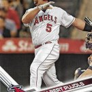 Albert Pujols 2017 Topps #380 Los Angeles Angels Baseball Card