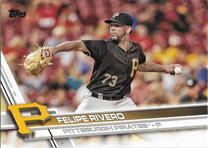 Felipe Rivero 2017 Topps #353 Pittsburgh Pirates Baseball Card