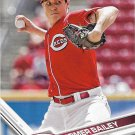 Homer Bailey 2017 Topps #200 Cincinnati Reds Baseball Card