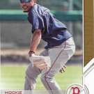 Mookie Betts 2017 Topps Salute #S-183 Boston Red Sox Baseball Card
