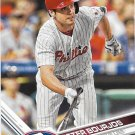 Peter Bourjos 2017 Topps #661 Philadelphia Phillies Baseball Card