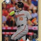 Adam Jones 2017 Topps 1987 Design #87-147 Baltimore Orioles Baseball Card