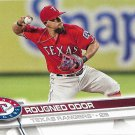 Rougned Odor 2017 Topps #666 Texas Rangers Baseball Card