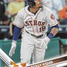 Tony Kemp 2017 Topps #513 Houston Astros Baseball Card