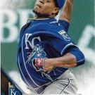 Edinson Volquez 2016 Topps #33 Kansas City Royals Baseball Card