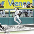 Melky Cabrera 2017 Topps #659 Chiacgo White Sox Baseball Card
